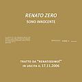 Renato Zero - Sono Innocente album