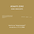 Renato Zero - Sono Innocente альбом