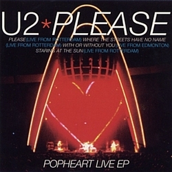 U2 - Please: Popheart Live EP album