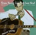 Faron Young - Live Fast Love Hard album