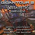 Megadeth - Gigantour 2 album