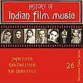 Lata Mangeshkar - History of Indian Film Music: Jogan (1950), Kala Pani (1958), Kali Ghata (1951), Vol. 26 album