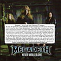 Megadeth - Never Walk Alone album