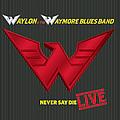 Waylon Jennings - Waylon & The Waymore Blues Band - Never Say Die LIVE! album