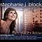 Stephanie J. Block - This Place I Know альбом