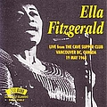 Ella Fitzgerald - Live From The Cave Supper Club 19 May 1968 album
