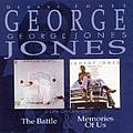 George Jones - Memories of Us/The Battle album