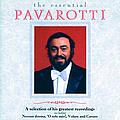 Luciano Pavarotti - The Essential Pavarotti album