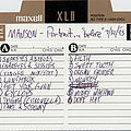 Marilyn Manson - portrait sessions альбом